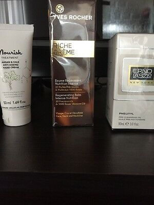 erno laszlo Phelityl pre-cleansing  oil 90ml,Yves Rocher Riche Creme,Nourish!