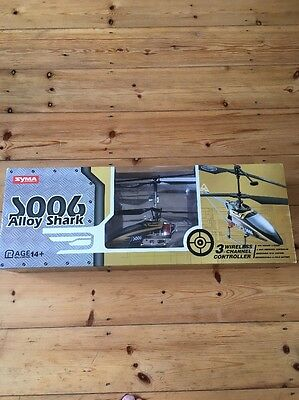 Remote Control Helicopter Syma Alloy Shark s006 Helicopter