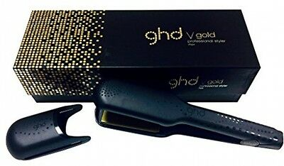 Ghd V Gold Max Styler professional ceramic hair straightener curler GENUINE