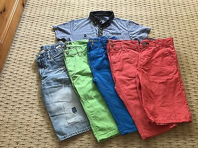 Boys Summer Bundle shorts   And Top Age 10-11 & 11 Years