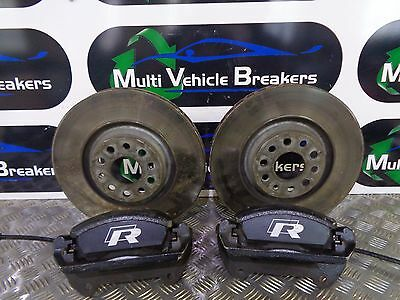2014 2015 2016 Vw Golf R 2.0Tsi Front Brake Calipers & Discs