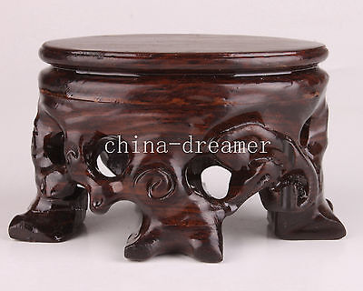Wood Handmade Exquisite Snuff Bottle Base Collections