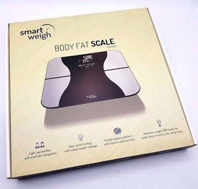 Digitale Körperfettwaage Personenwaage Smart Weigh Körperanalysewaage R7.240