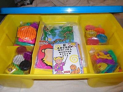 Play Doh Desk With New Still Bags Accessories