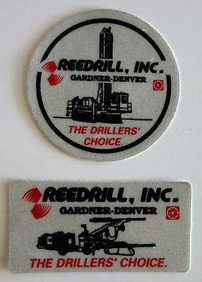 Reedrill The Drillers Choice Mining Stickers