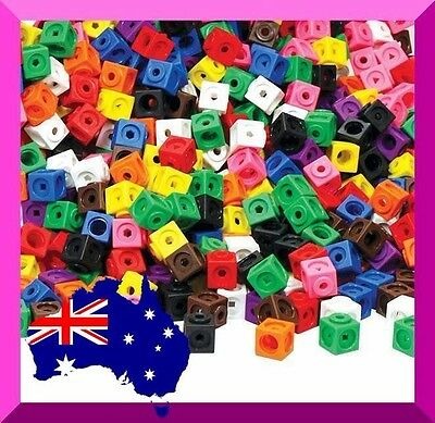 Snap Cubes all Interlocking 2cm x 100 Education Resources