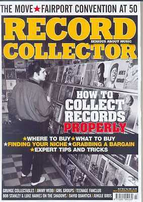 Record Collector Magazine 468 July 2017 (The Move, Fairport Convention) New