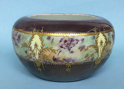 Antique Rosenthal Germany Bulbous Candy Bowl