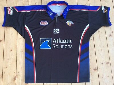 Wakefield Wildcats Trinity Rugby League 2005 Alternative Away Shirt Size Large