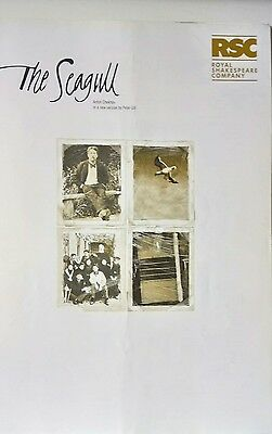 """the Seagull"" Rsc Theatre Programme 2000/richard Johnson/swan Theatre Stratford"