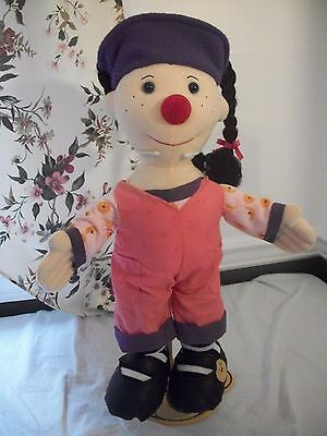 The Big Comfy Couch 2002 Large 19-20 In Stuffed Loonette Doll Retired Rare Clean