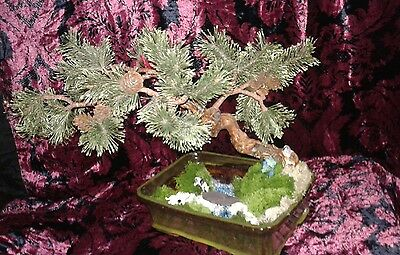 Artifical bonsai tree with a differance