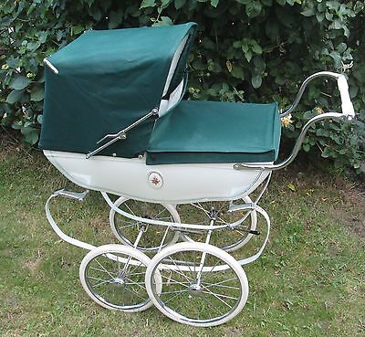 Silver Cross Hard Body Dolls Pram .used For Display Only