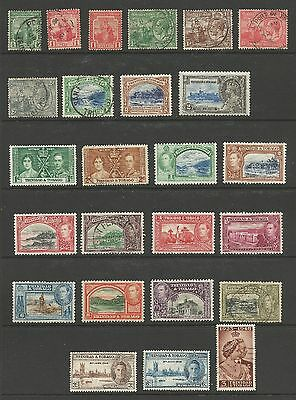 Trinidad and Tobago Stamps #1 // #134 51 Mint Hinged & Used 2 pages CV $33.05