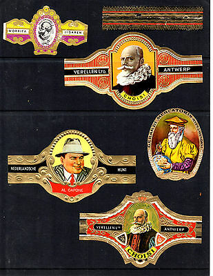 Cigar Bands... (Various Large Size)...all Different (Lot 1860)