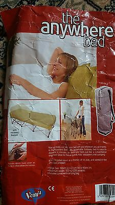 Inflatable Guest Bed, Camping Put-Up Airbed, with Legs