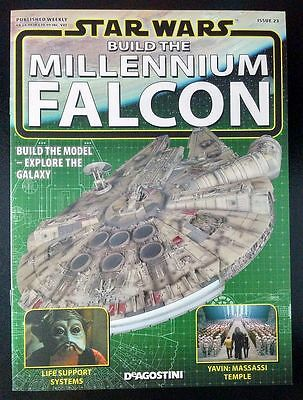 DeAgostini STAR WARS Build the MILLENNIUM FALCON Magazine + Model Parts ISSUE 23