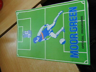 FA Trophy 81/2 Moor Green v Telford United Oct 27