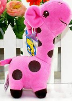 Cute Baby Kids Children Plush Giraffe Soft Toys Animal Dear Doll Birthday Gifts