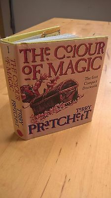 The Colour of Magic: Compact Discworld Novel by Terry Pratchett (Hardback, 1995)