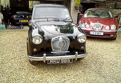 Austin A30 1956 Black with red interior 29,000m