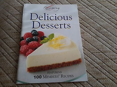 Slimming World Book Delicious Desserts recipe cookery diet book