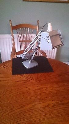 Horstmann Desk Lamp, Counter Balanced and with Magnifying Lens