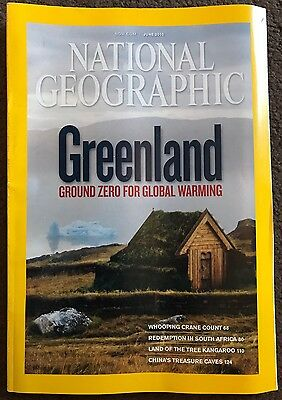 National Geographic Magazine June 2010 Greenland Issue
