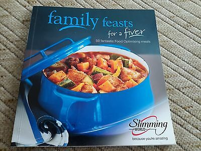 Slimming World Book Family Feasts for a Fiver recipe cookery book