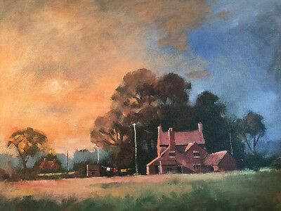Stunning Impressionist Oil Painting On Canvas , Shepard's Delight Cornetsend