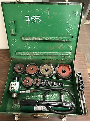 "Greenlee 7310SB 1/2"" - 4"" Knockout Punch Set"