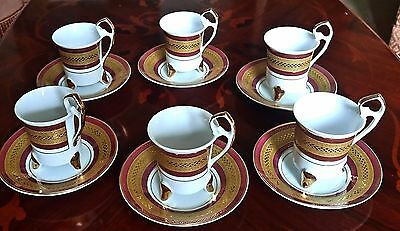 Vintage Boxed Set Of Coffee Cups I