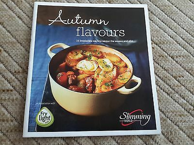Slimming World Booklet Autumn Flavours recipe cookery book diet pamphlet