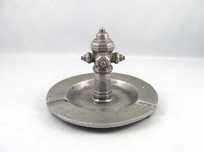 Vintage Cast Aluminum Fire Hydrant Ashtray Firefighter Item Related
