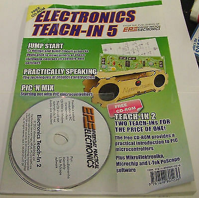 electronics teach in 5 with CD
