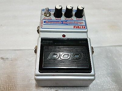 DOD FX 747 SUPERSONIC STEREO FLANGER - made in USA