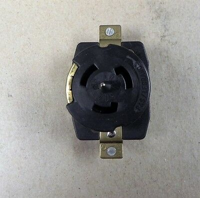 Legrand CS8369 3PH Fe 3-Pole 4-Way 250V 50Amp Gnd Receptacle NEW.