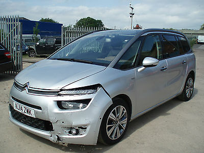 Citroen Grand C4 Picasso 1.6e-HDi Exclusive+ DAMAGED REPAIRABLE SALVAGE