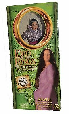 Lord of the Rings Fellowship Collector Series Doll Arwen Liv Taylor New Unopened