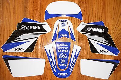 Factory Effex Team Yamaha Pw 50 Evo Graphics Decals Kit Pw50 (90-15) 17-01206