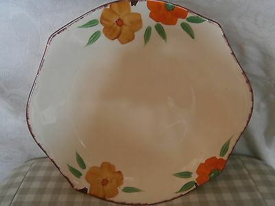 Alfred Meakin floral 1930+ cake plate