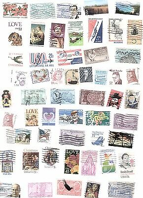 USA Stamps 215 All Different and Off Paper
