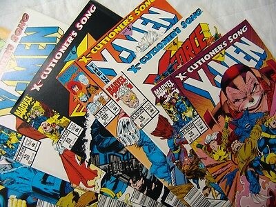 X-Men Executioner's Song 3, 4, 5, 6, 7, 8, 9, 11 In Fine Condition.…
