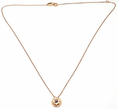 Authentic Damiani THE MAJI COL 18k Burnished Gold Rough Diamond Necklace
