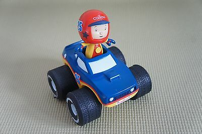 CAILLOU Race Car with Pull Back Action Very hard to find
