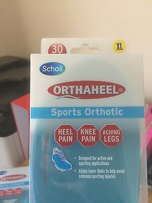 Scholl sports orthotic soles