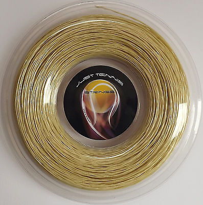 TRIANGLE TWISTED CO-POLY TENNIS STRING 1.27mm (16 / 8.5) x 200m Natural