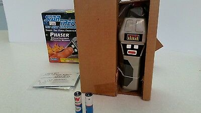 "Collectible Star Trek ""The Next Generation"" Phaser Defensive Weapon With Box"