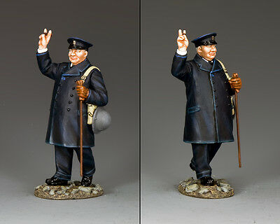 KING AND COUNTRY WW2 British Prime Minister Churchill D Day DD296