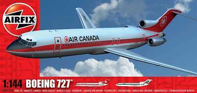 1:144 Scale  Airfix  Kit Of Boeing 727 Airliner Nib